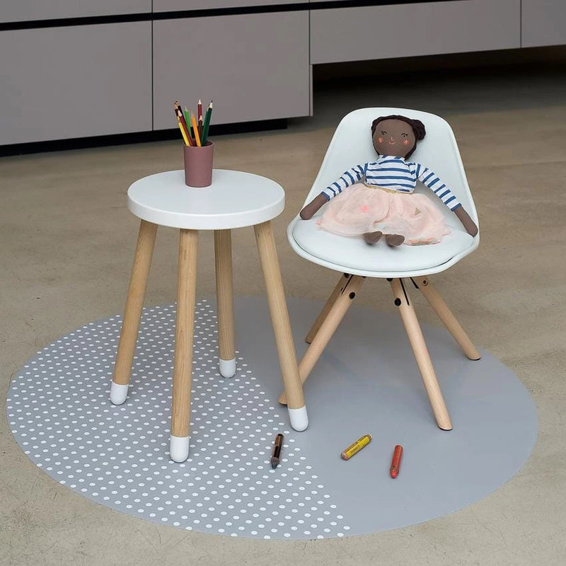 "Toddlekind <br/> Bodenmatte Clean Wean Mat ""Spotted Series"" <br/> Dove"