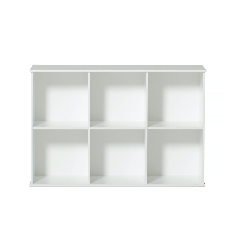 Oliver Furniture <br/> Wandregal 3x2 Fächer Wood <br/> Weiss