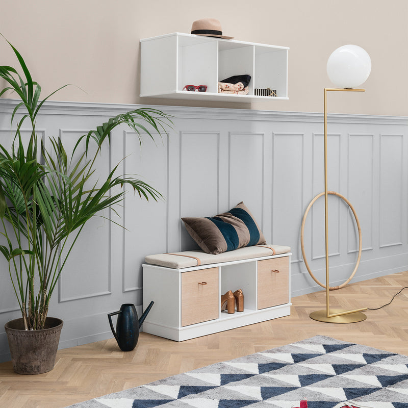 Oliver Furniture <br/> Regal 3x1 Fächer Wood <br/> Weiss
