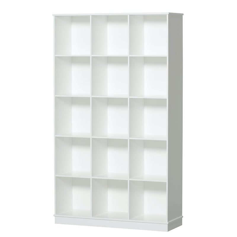 Oliver Furniture <br/> Regal 3x5 Fächer Wood <br/> Weiss