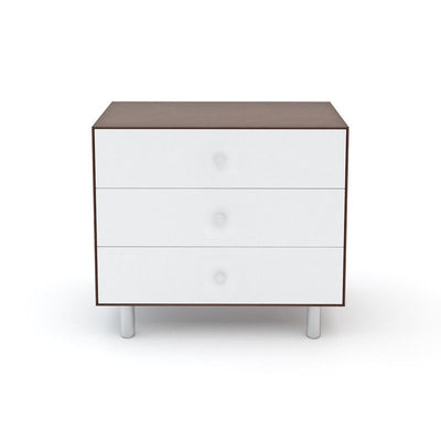 Oeuf NYC Merlin chest of drawers Classic Walnut / white, changing tables, Oeuf NYC - SNOWFLAKE children's furniture concept store
