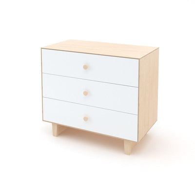Oeuf NYC Merlin chest of drawers Rhea Birch / white, changing tables, Oeuf NYC - SNOWFLAKE children's furniture concept store