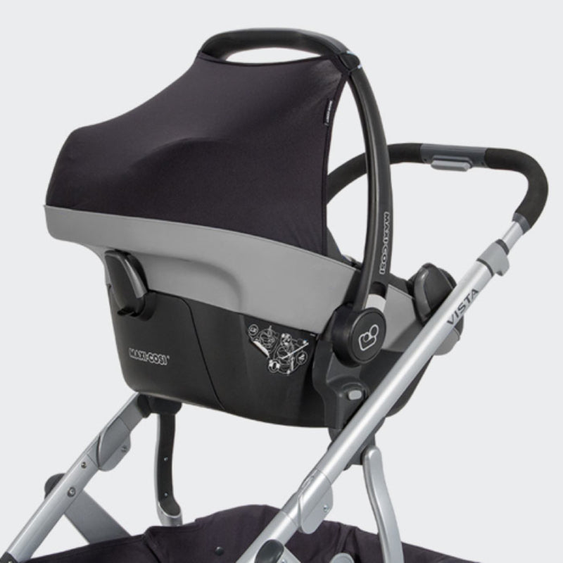 UPPAbaby Upper car seat adapter black