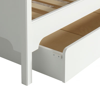 Oliver Furniture Seaside Classic bed drawer 94 x 182 cm White