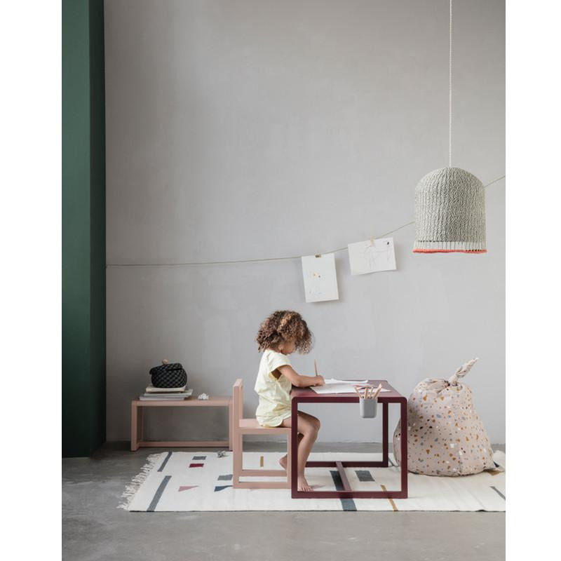 Ferm Living Little Architect bench Pink, benches, Ferm Living - SNOWFLAKE children's furniture concept store
