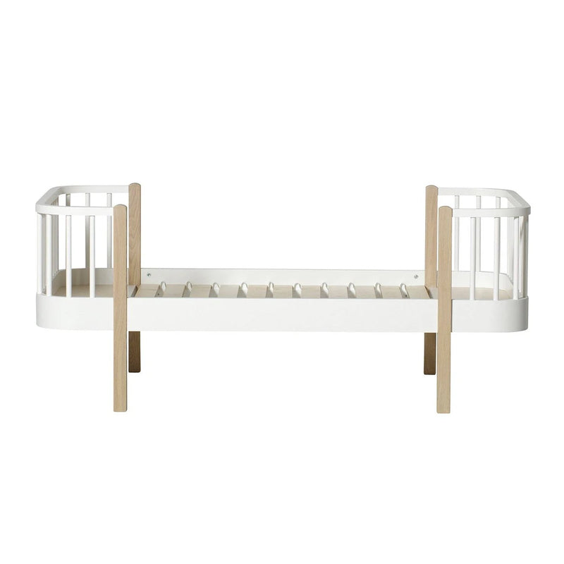 Oliver Furniture <br/> Wood Kommode mit 4 Schubladen <br/> Weiss/Eiche