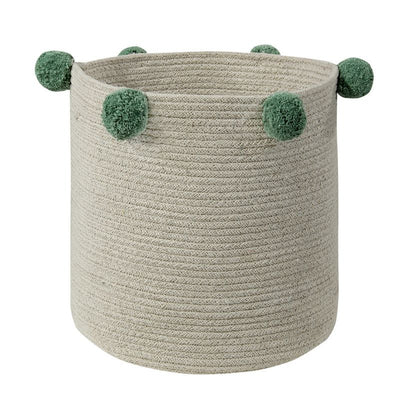 Lorena Canals Storage basket Bubbly Green, storage basket, Lorena Canals - SNOWFLAKE children's furniture concept store