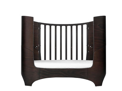 Leander Baby bed with junior set Walnut, baby cots, Leander - SNOWFLAKE children's furniture concept store