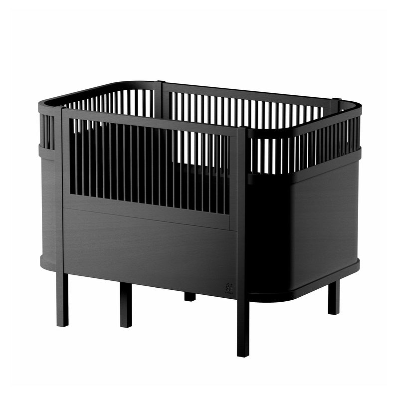 Sebra <br/> Baby und Junior Bett <br/> Black Edition