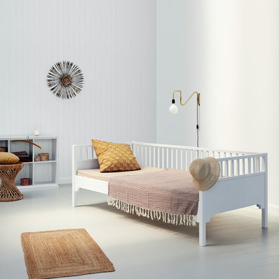 Oliver Furniture Seaside conversion set Bunk bed to two sofa beds White
