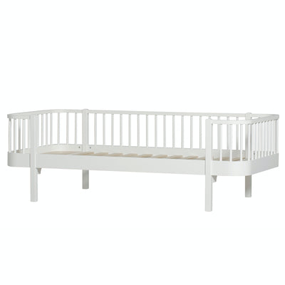 Oliver Furniture Conversion set Wood mid-high loft bed to sofa bed White