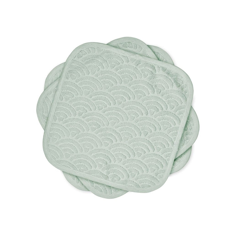 Cam Cam <br/> 3er Set Waschlappen <br/> Dusty Green