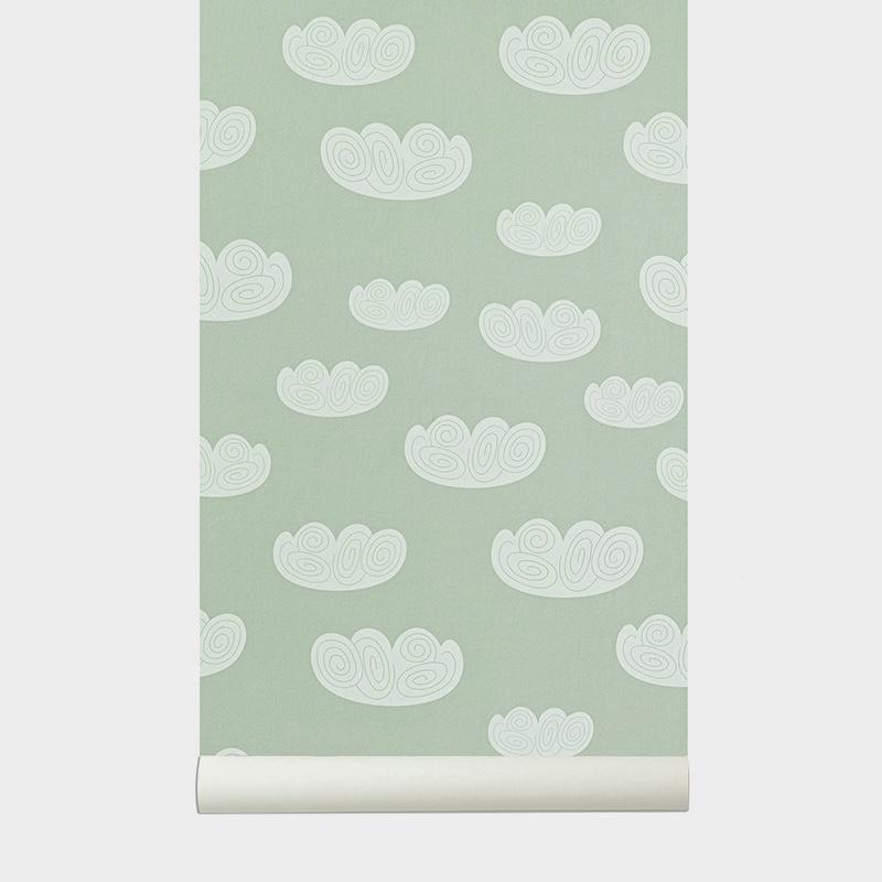 Ferm Living <br/> Tapete Cloud <br/> Mint