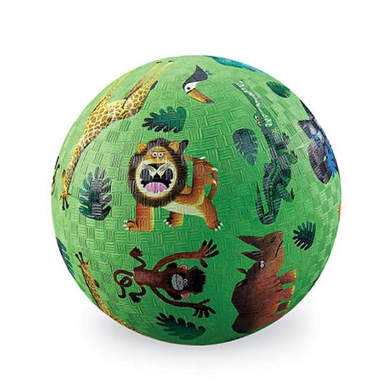 "Crocodile Creek <br/> Kinderball ""Very Wild Animals"" gross Ø 18 cm <br/> Grün"