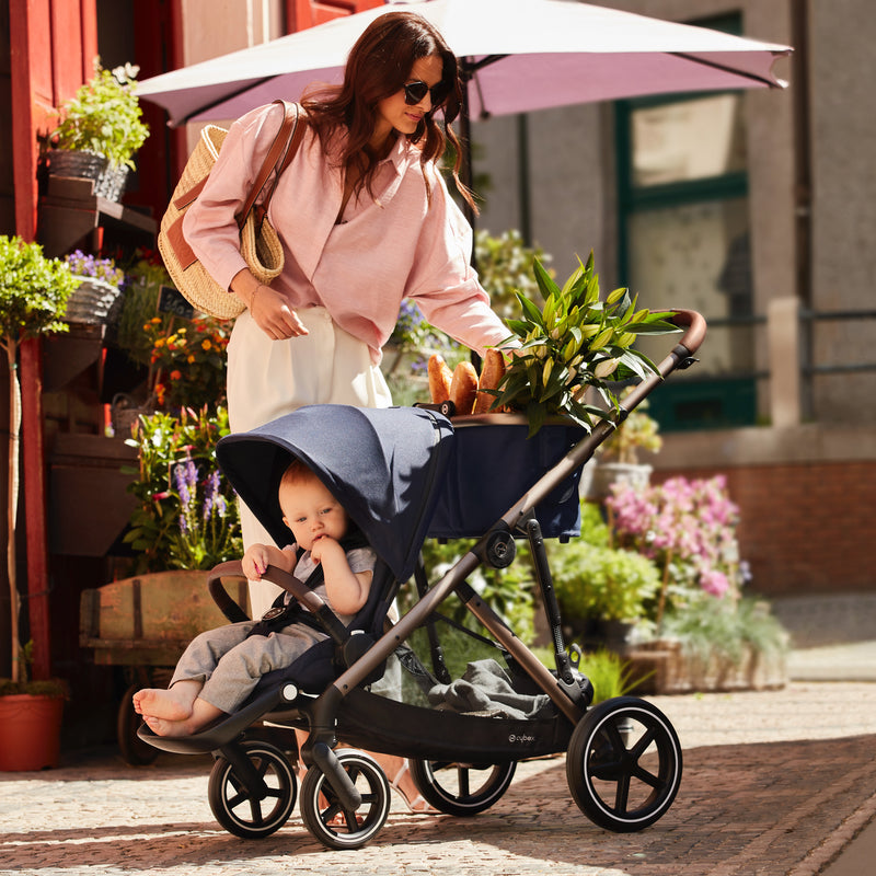 Cybex <br/> Gazelle S Black Frame <br/> Soho Grey