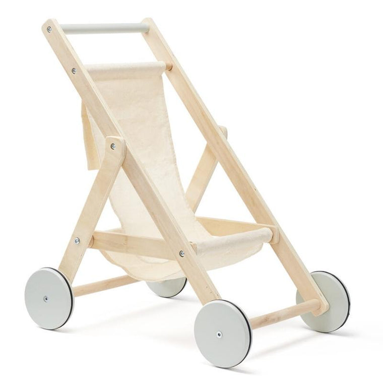 Kids Concept <br/> Puppen-Kinderwagen <br/> Nature/Green