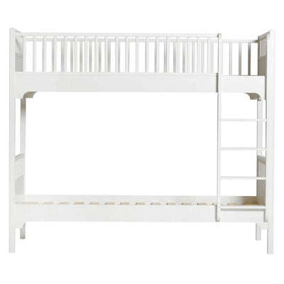 Oliver Furniture Seaside Classic bunk bed 90 x 200 cm with straight ladder White