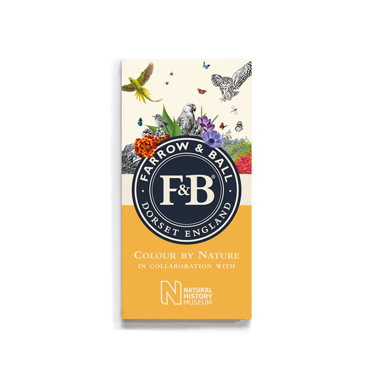 Farrow & Ball <br/> Farbkarte Colour by Nature <br/> 16 Farbtöne