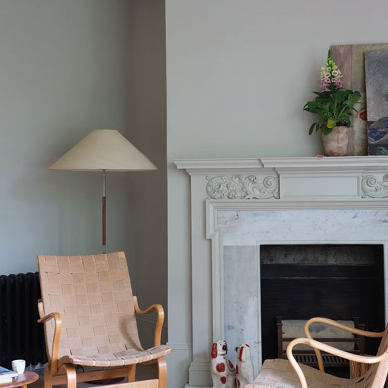 Farrow & Ball <br/> Modern Emulsion <br/> Ash Grey W9