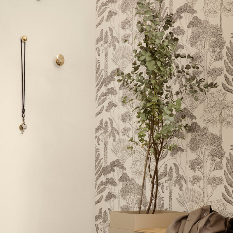 Ferm Living <br/> Katie Scott Tapete Trees <br/> Off White
