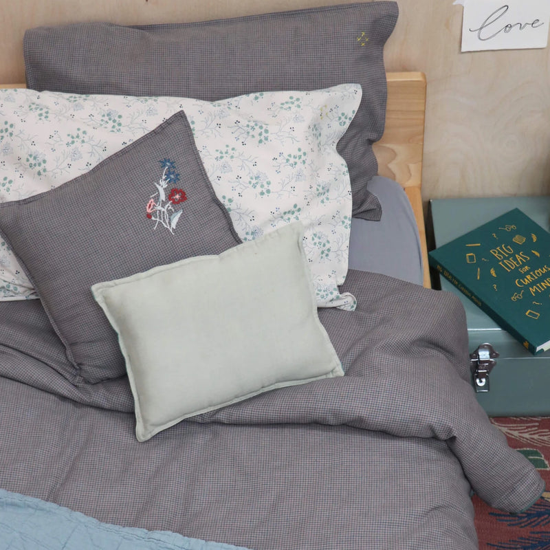 Camomile London <br/> Fixleintuch 90x200 <br/> Blue Grey