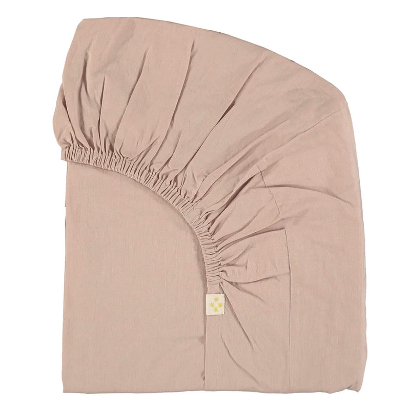 Camomile London <br/> Fixleintuch 90x200 <br/> Light Mink