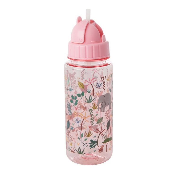 "Rice <br/> Kinder Trinkflasche ""Jungle Animals"" <br/> Pink"