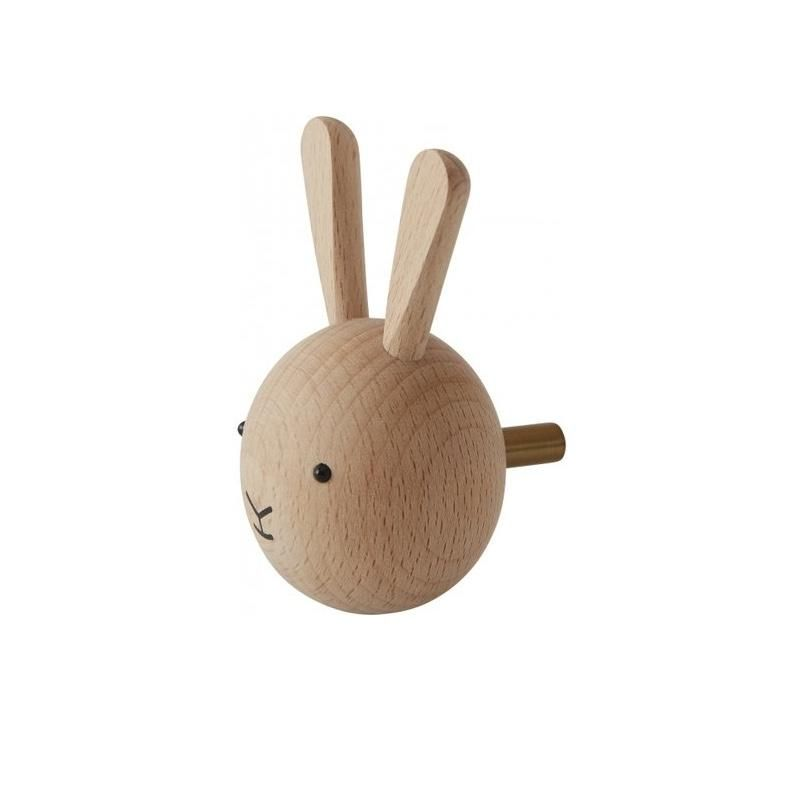 OyOy <br/> Garderobe/Wandhaken Rabbit <br/> Natural