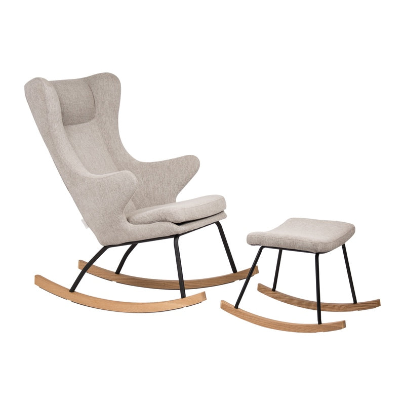 Quax <br/> Hocker De Luxe <br/> Sand Grey