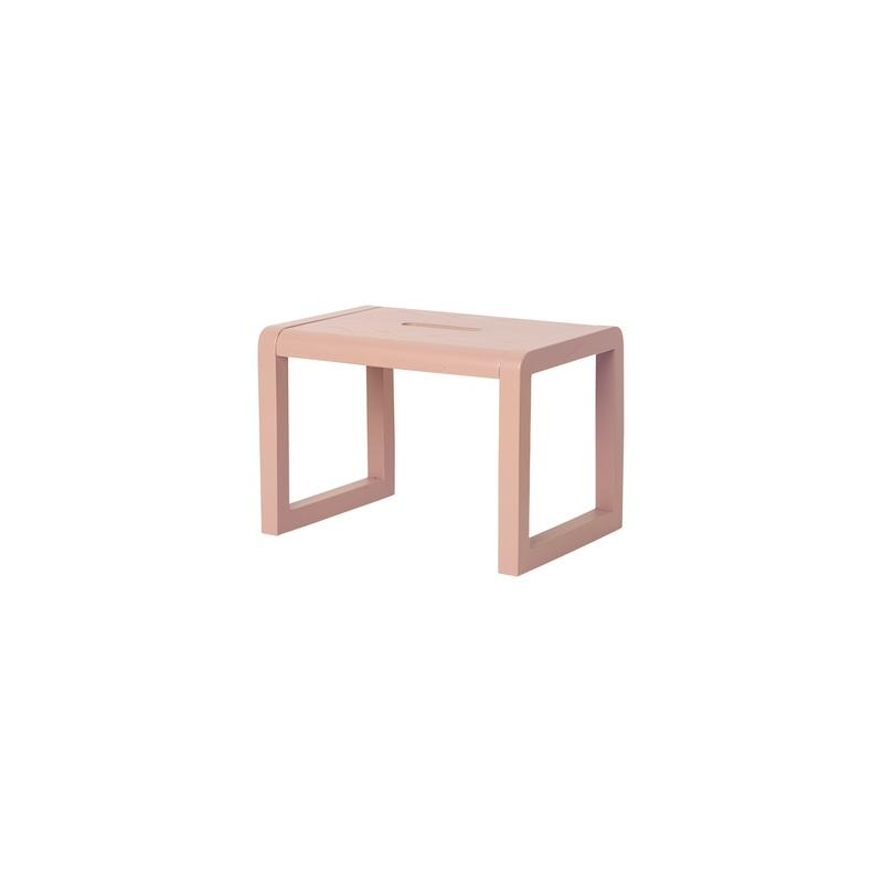 Ferm Living <br/> Little Architect Hocker <br/> Rosa,Hocker, Ferm Living - SNOWFLAKE kindermöbel concept store