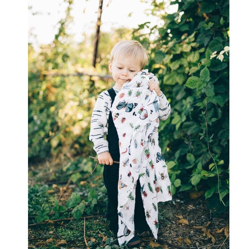 Little Unicorn <br/> Deluxe Swaddle <br/> Bugs