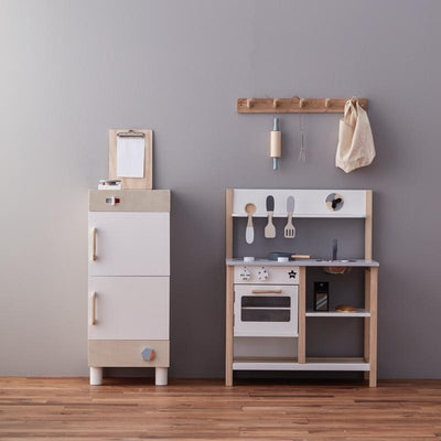 Kids Concept Wooden play kitchen including accessories Natural / white