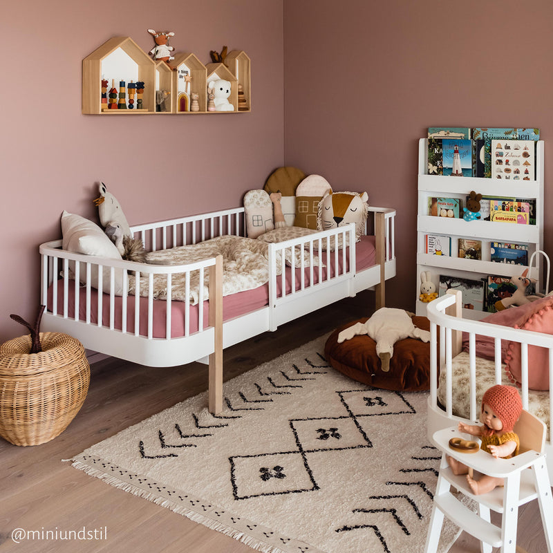 Lorena Canals Washable cotton rug Bereber Rhombs, carpets, Lorena Canals - SNOWFLAKE children's furniture concept store