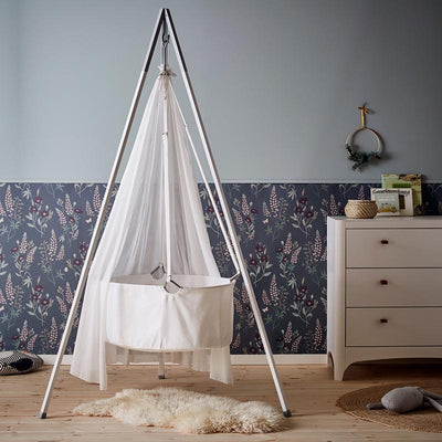 Leander Classic Stand for cradle White / alu