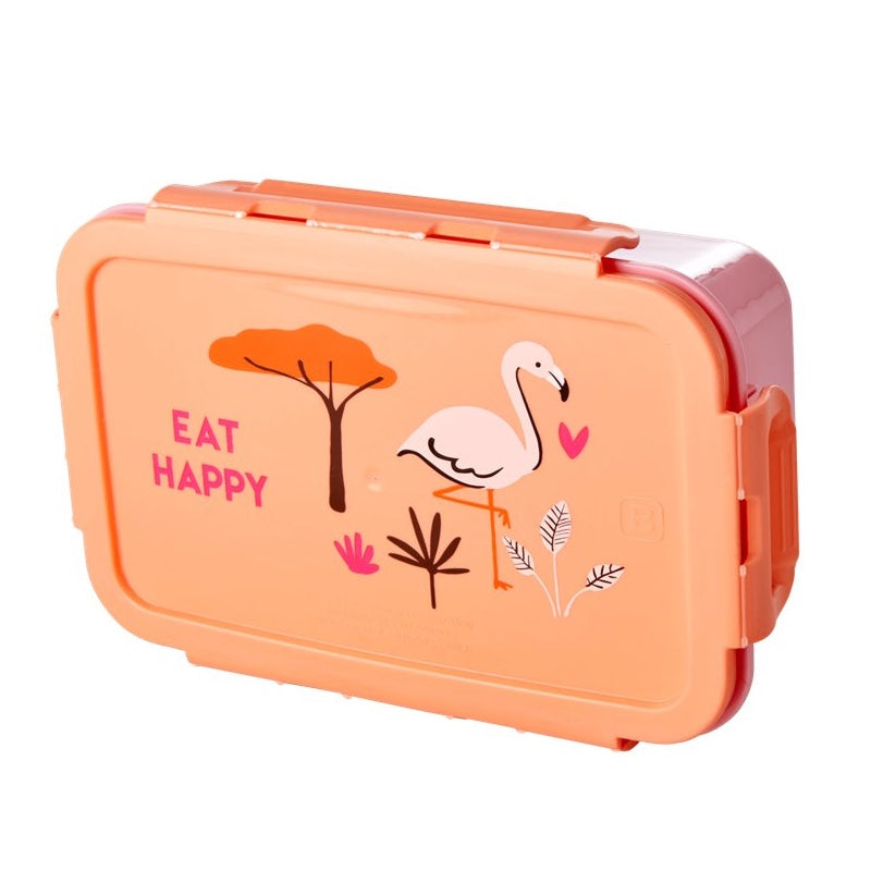 "Rice <br/> Kinder Lunchbox ""Jungle Animals"" <br/> Coral"