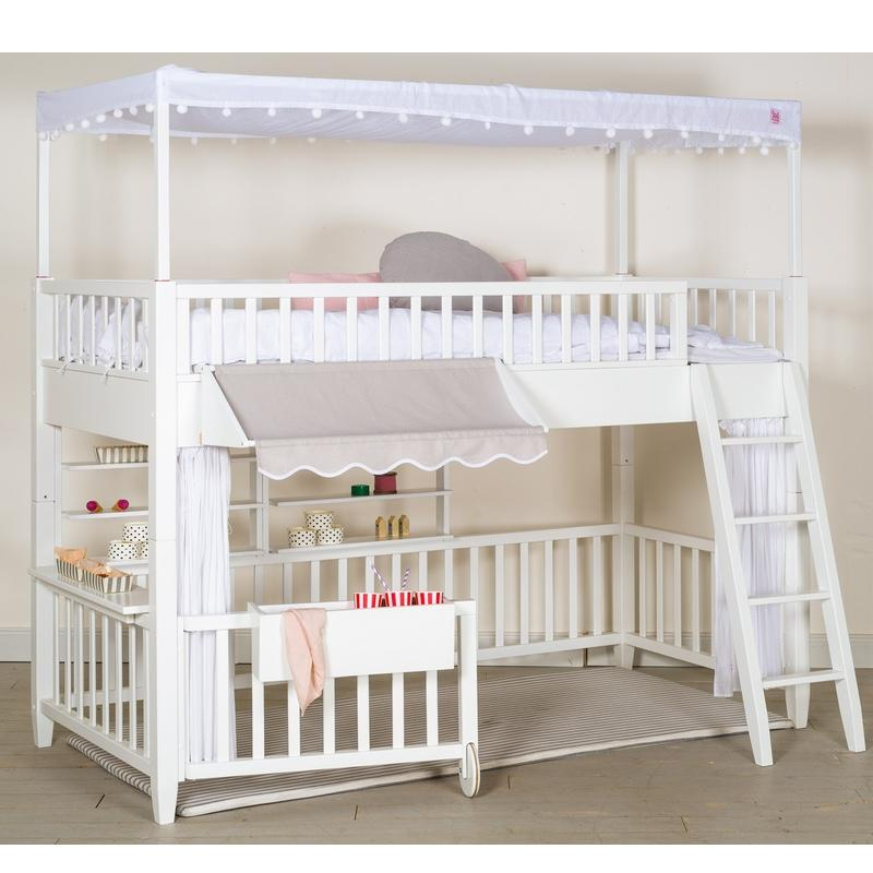 Isle of Dogs Awning for the play bed series White