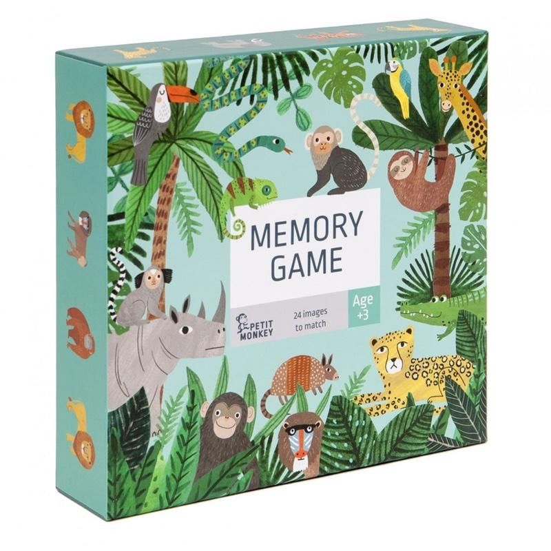 Petit Monkey <br/> Memory Jungle <br/> Multi