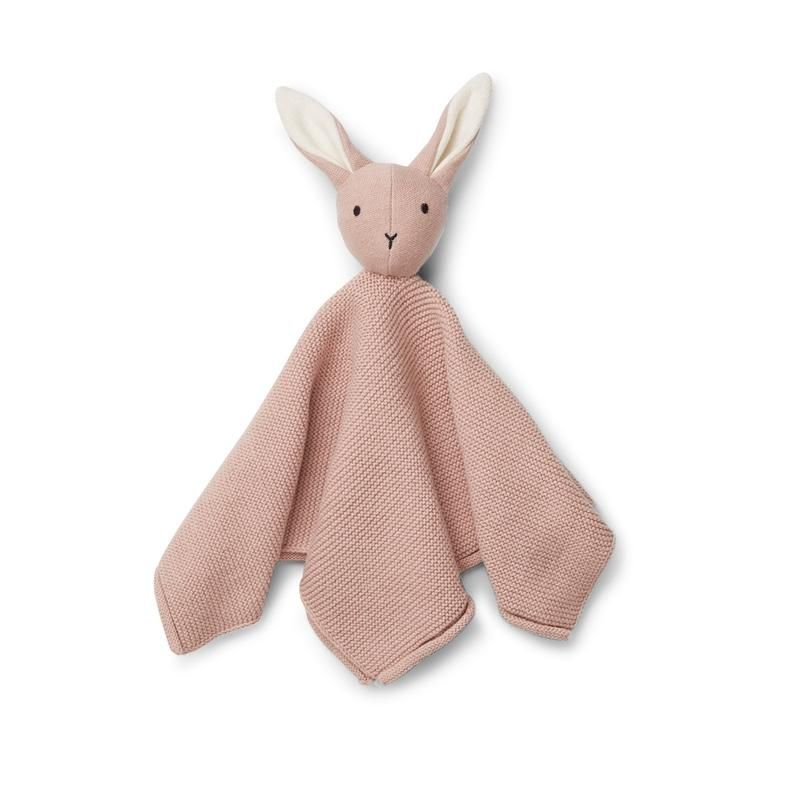 Liewood <br/> Cuddle Milo Knit <br/> Rabbit Rose