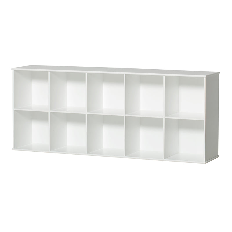 Oliver Furniture <br/> Wandregal 5x2 Fächer Wood <br/> Weiss