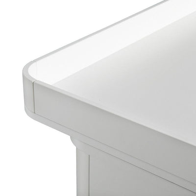 Oliver Furniture Changing table 6 drawers with large wood changing table White / oak, changing table, Oliver Furniture - SNOWFLAKE children's furniture concept store
