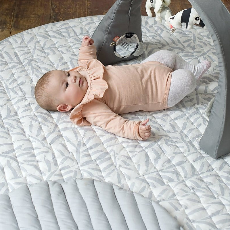 """Toddlekind """"Luxe"""" nappy-free play mat Stone"""