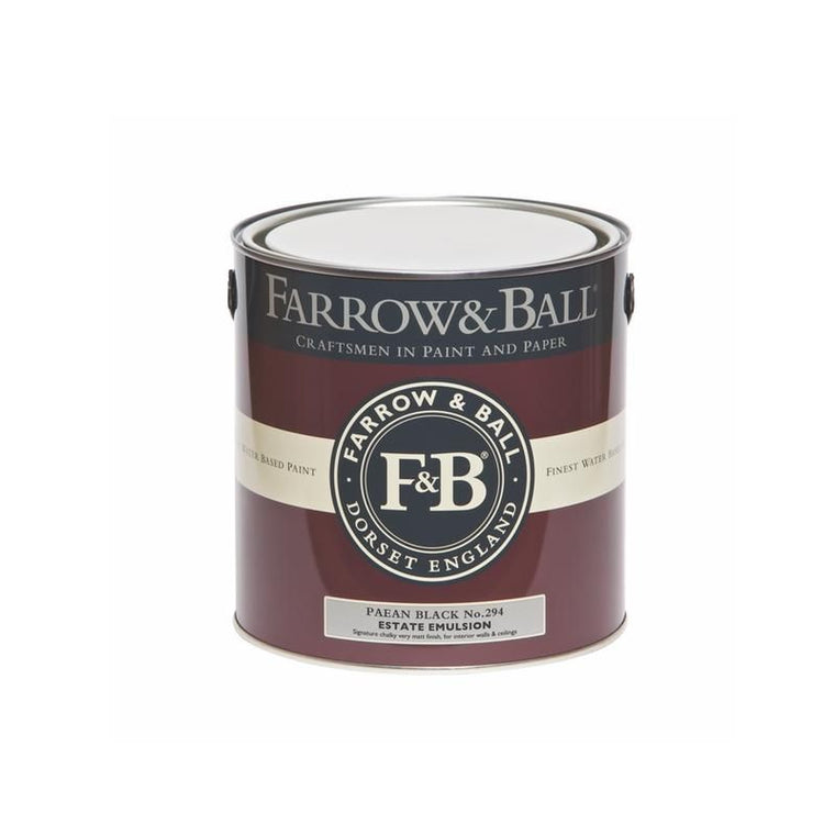 Farrow & Ball <br/> Estate Emulsion <br/> Paean Black 294