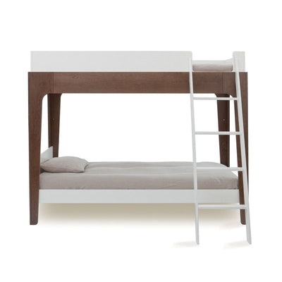 Oeuf NYC Bunk bed / loft bed Perch Walnut / white, bunk beds, Oeuf NYC - SNOWFLAKE children's furniture concept store