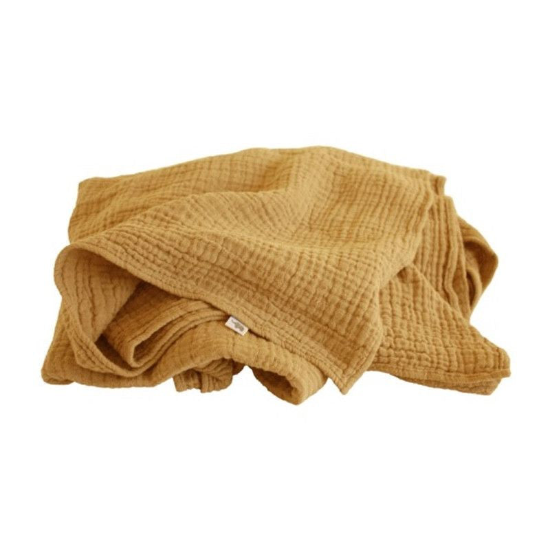 Petit Stellou <br/> Mulltuch Nooshi Blanket <br/> Gold,Tücher, Petit Stellou - SNOWFLAKE kindermöbel concept store