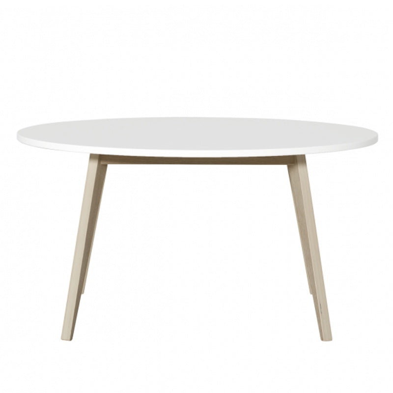 "Oliver Furniture <br/> Kindertisch Wood ""PingPong"" <br/> Weiss/Eiche"