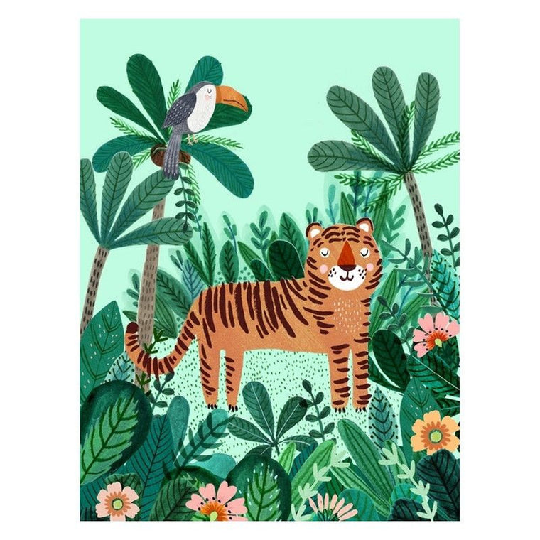 Petit Monkey <br/> Poster <br/> Tiger,Poster, Petit Monkey - SNOWFLAKE kindermöbel concept store