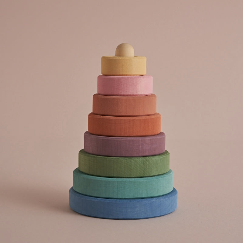 "Raduga Grez <br/> Stapelturm ""Pastel Earth Stacking Tower"" <br/> Colored"