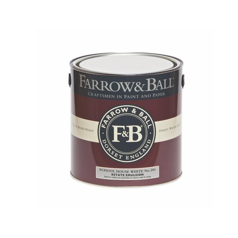 Farrow & Ball <br/> Estate Emulsion <br/> School House White 291