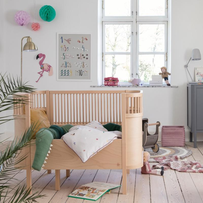 Sebra <br/> Baby und Junior Bett <br/> Wooden Edition