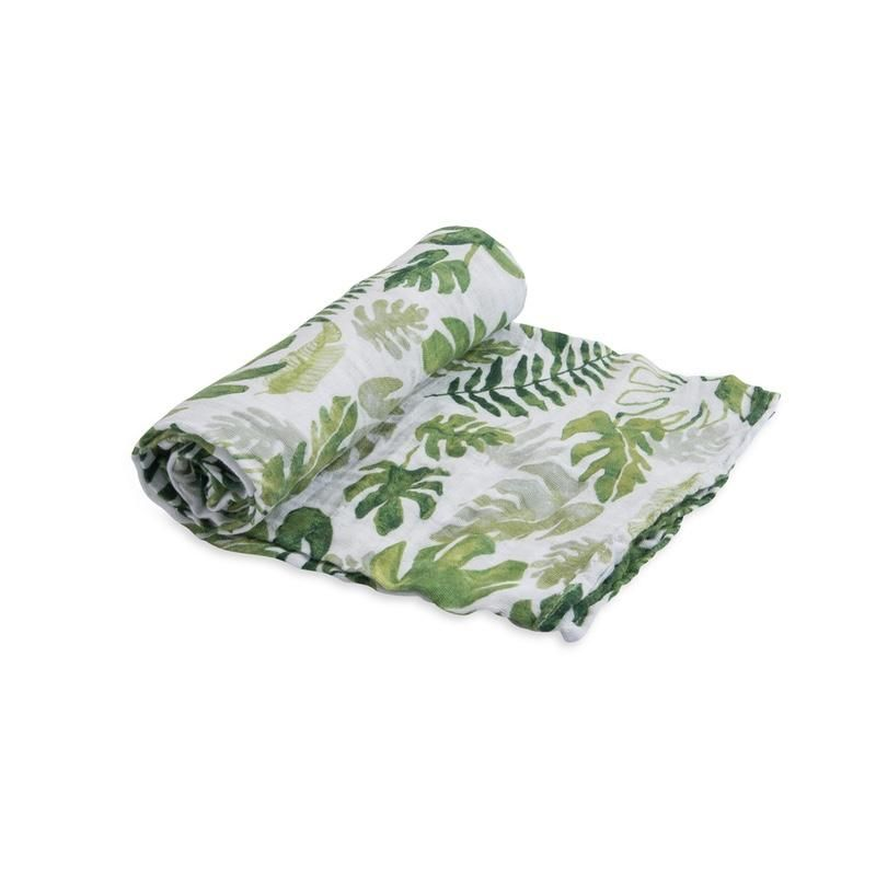 Little Unicorn <br/> Cotton Swaddle <br/> Tropical Leaf,Tücher, Little Unicorn - SNOWFLAKE kindermöbel concept store